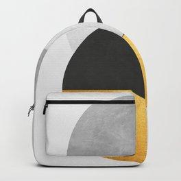 Golden Geometric Art IX Backpack