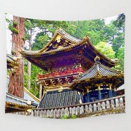Tosho-gu Shrine, Nikko, Japan Wall Tapestry