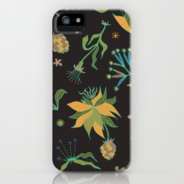 Vintage Gothic Garden iPhone Case