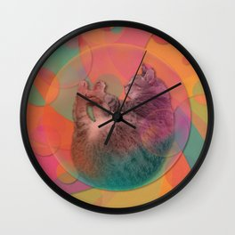 Kitty Cat Sweet Dream Wall Clock