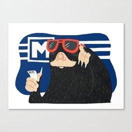 Subway mole Canvas Print