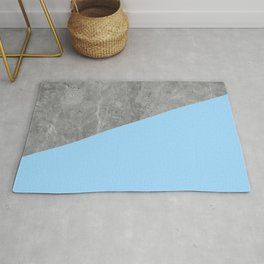 Geometry 101 Blue Raspberry Rug