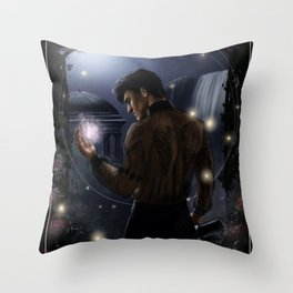 The Magician Throw Pillow
