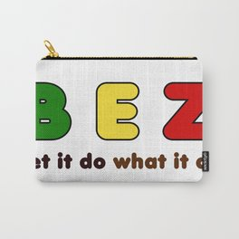 B E Z Carry-All Pouch