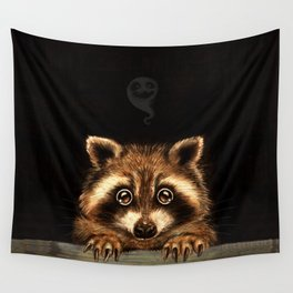 Behind you Wall Tapestry