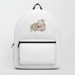 Bookish Dog Lover Bibliophile Women Bookworm Girl Puppy Owner Cannot Survive On Books Alone Backpack