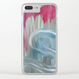 Love by Lu Clear iPhone Case