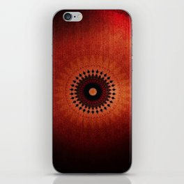 Red like the Sun iPhone Skin