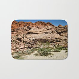 Red Rocks I Bath Mat