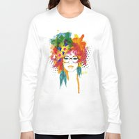 dreamer Long Sleeve T-shirts featuring Dreamer by PositIva