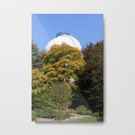 The Old Royal Observatory Garden Metal Print