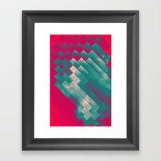 frysyn pyssxyn Framed Art Print