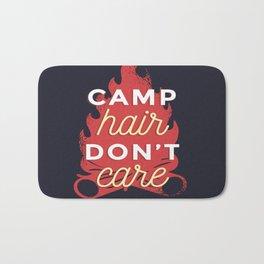 Camp hair don't care Bath Mat