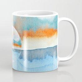 Orange Sea Drop Coffee Mug