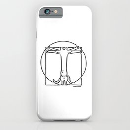 Vitruviancat iPhone Case