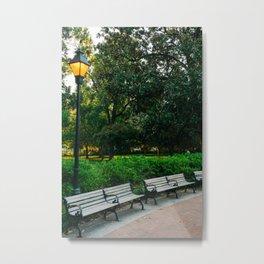 Savannah Forsyth Park III Metal Print
