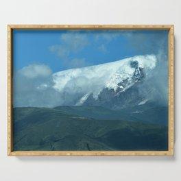 Cayambe Glacier, Cayambe Ecuador Serving Tray