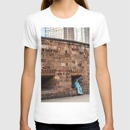 Lazy Lady Liberty T-shirt