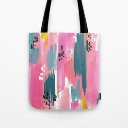 Seaside Abstract Tote Bag