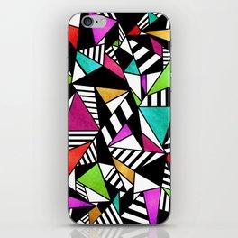 Geometric Multicolored iPhone Skin