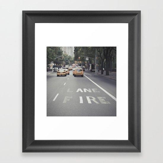 ane ire... Framed Art Print