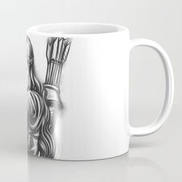 Female Warrior Coffee Mug