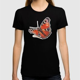 Butterfly by Lars Furtwaengler | Colored Pencil / Pastel Pencil | 2014 T-shirt
