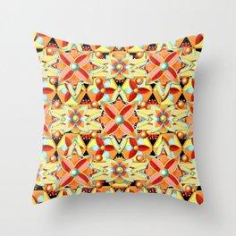 Boho Chic Suzani Star Throw Pillow