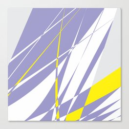 Straight lines abstract Canvas Print
