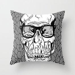 'BRAINWASHED' PRINT 2009 Throw Pillow