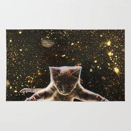 Kitten. In. Space. Rug