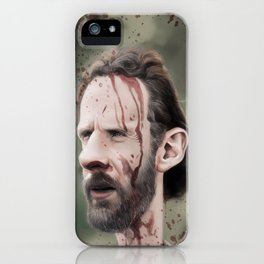 Rick Grimes iPhone Case
