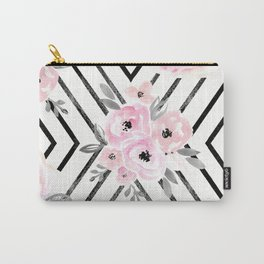 Blush Roses Mod Carry-All Pouch
