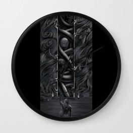 Hillbilly Hijinx Wall Clock