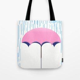 umbrella rain storm Tote Bag