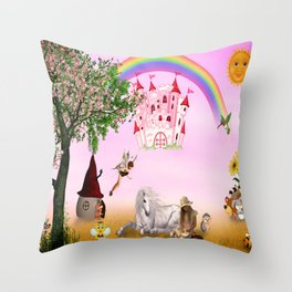 Fairytale Throw Pillow