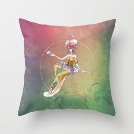 One thousand papercuts Throw Pillow