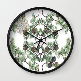 Let Love Grow, Heart Part Close-up Wall Clock