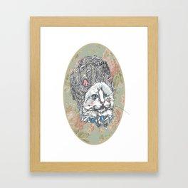 Meowrie Antoinette Framed Art Print