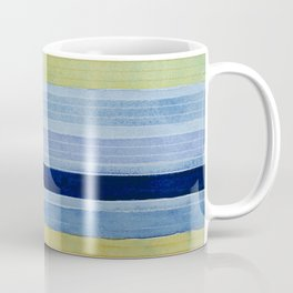 Colorbands Daylight Blue and Yellow Coffee Mug