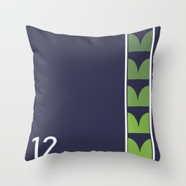 Seattle Football-1 Throw Pillow