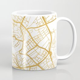 BERN SWITZERLAND CITY STREET MAP ART Coffee Mug
