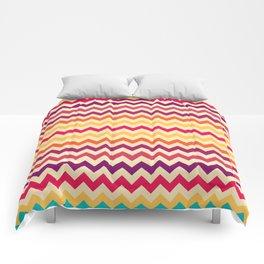 Lovely Chevron X . 2 Comforters