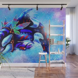 Water Whale Wall Mural