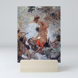 """Luis Ricardo Falero """"Study of Witches going to their Sabbath"""" Mini Art Print"""