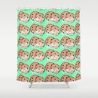 cookies Shower Curtains featuring Cookies by Chelsea Herrick