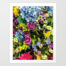 Bee Buffet Art Print