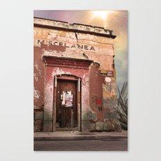 Oaxaca Style Canvas Print