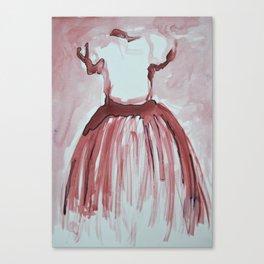 Vestido Canvas Print