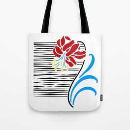 Immortal Flower Tote Bag